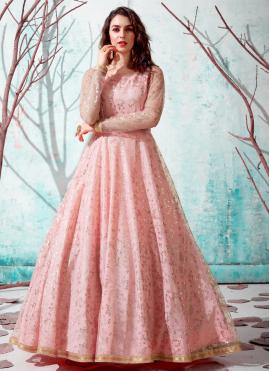 Pink Fancy Designer Gown