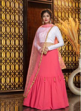 Pink Sangeet Designer Lehenga Choli