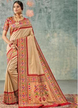 Piquant Weaving Party Designer Saree