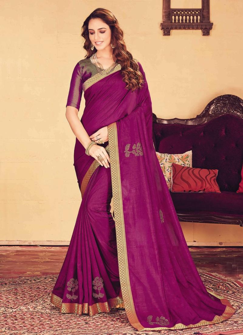 Pleasing Silk Trendy Saree