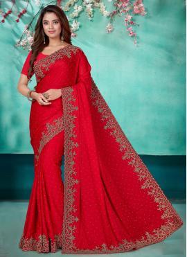 Prime Satin Classic Designer Saree