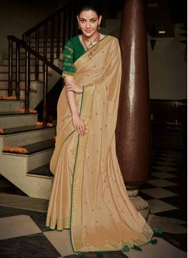 Pristine Silk Weaving Trendy Saree