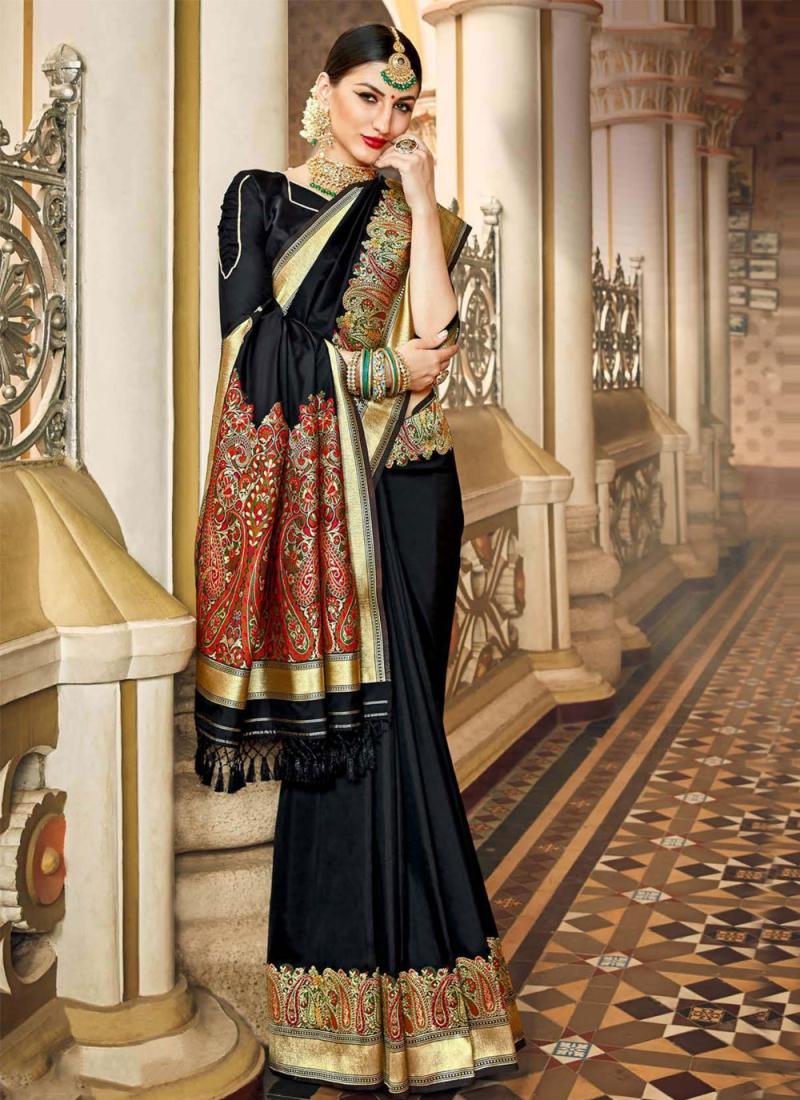 Prodigious Silk Sangeet Traditional Saree