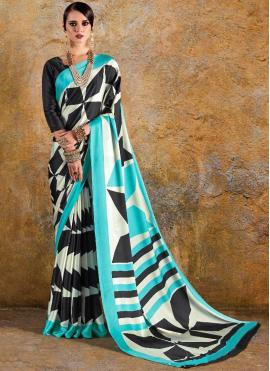 Prominent Print Printed Saree