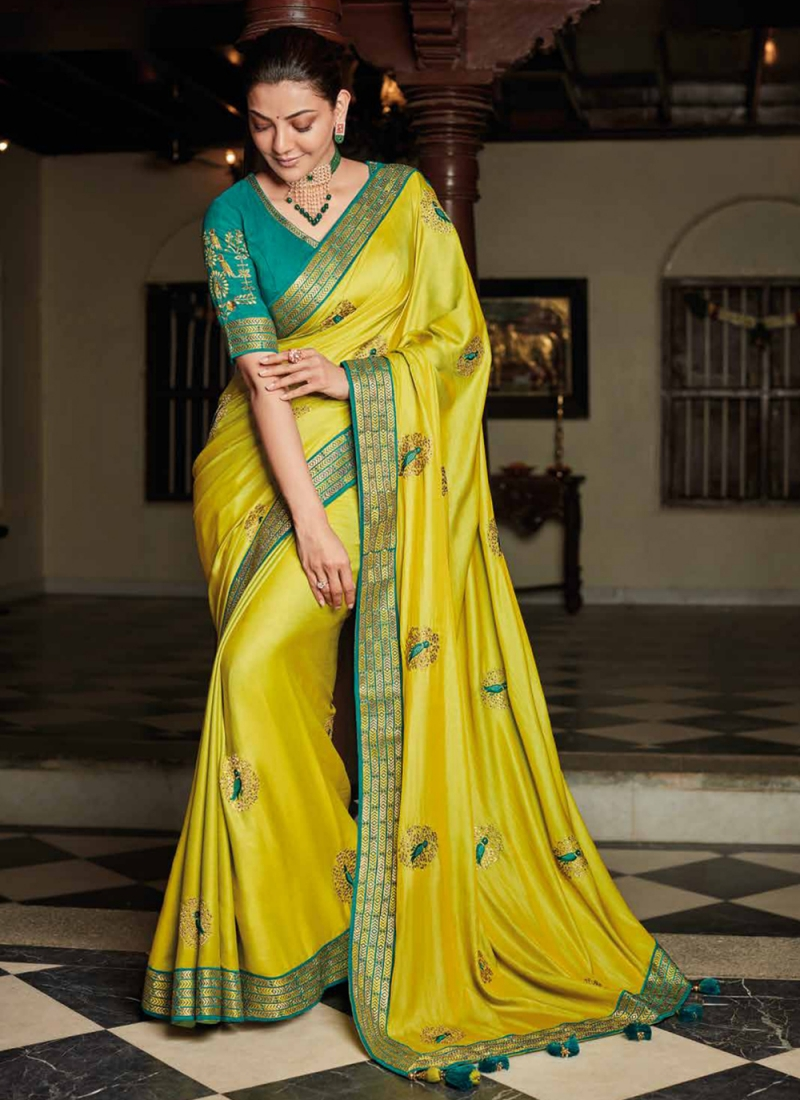 Prominent Silk Designer Saree