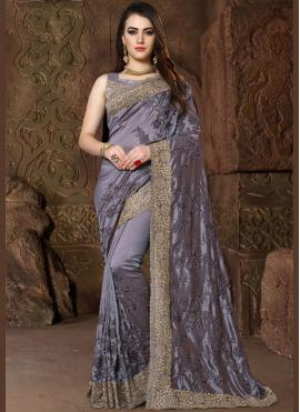 Radiant Patch Border Wedding Designer Traditional Saree