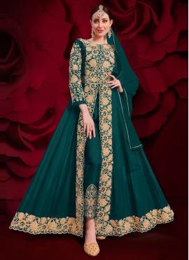Rama Festival Faux Georgette Anarkali Suit