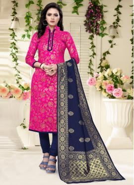 Rani Color Churidar Salwar Suit