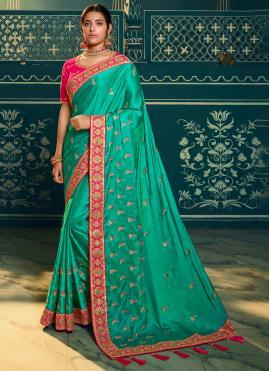 Ravishing Resham Trendy Saree