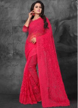 Red Ceremonial Classic Saree