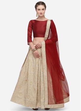 Regal Banarasi Silk Lehenga Choli