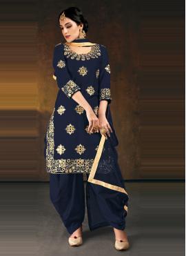 Remarkable Designer Patiala Suit For Festival