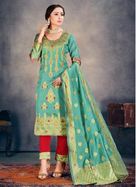 Remarkable Weaving Pant Style Suit