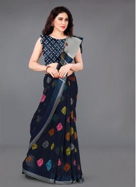 Resplendent Casual Saree For Party