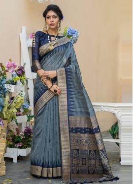 Resplendent Weaving Designer Saree