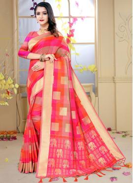 Ruritanian Silk Festival Designer Traditional Saree