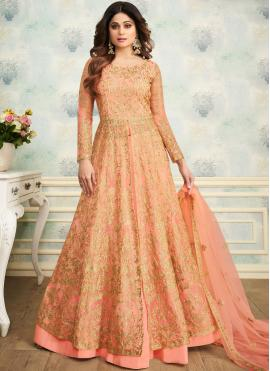 Shamita Shetty Trendy Lehenga Choli
