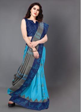 Sightly Printed Classic Saree