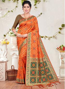 Sightly Weaving Banarasi Silk Designer Traditional Saree