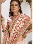 Silk Classic Saree in Pink - 1
