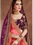 Silk Magenta Designer Lehenga Choli - 2