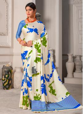 Silk Multi Colour Designer Saree
