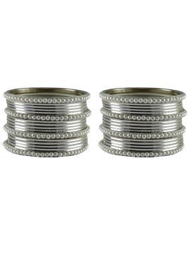 Silver Reception Bangles
