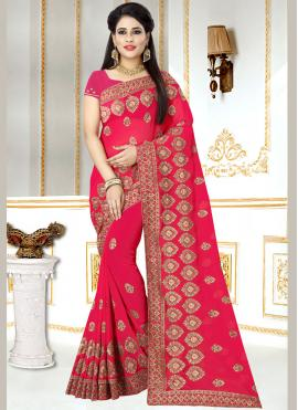 Snazzy Embroidered Saree