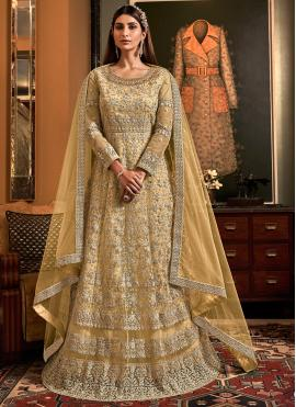 Sonorous Embroidered Reception Floor Length Anarkali Salwar Suit
