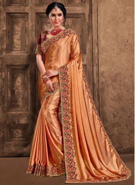 Sonorous Poly Silk Designer Saree