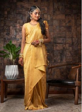 Sophisticated Fancy Raw Silk Traditional Designer Saree