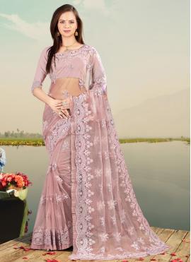 Sophisticated Resham Designer Saree