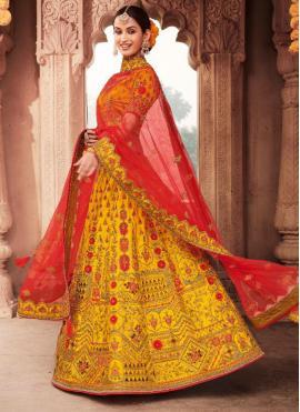 Specialised Embroidered Trendy Lehenga Choli