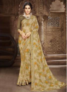 Specialised Multi Colour Casual Saree