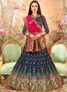 Spectacular Art Silk Weaving Lehenga Choli