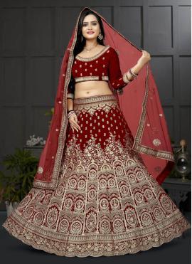 Spectacular Velvet Lehenga Choli