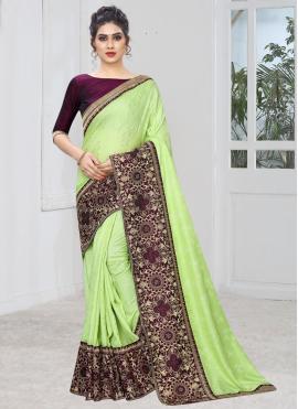 Spellbinding Silk Silk Saree