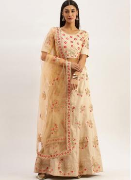 Splendid Embroidered Art Silk Lehenga Choli