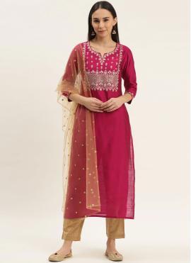 Splendid Fancy Silk Readymade Suit