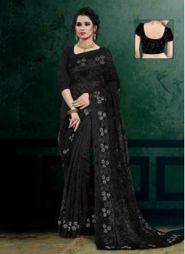 Splendid Net Classic Designer Saree