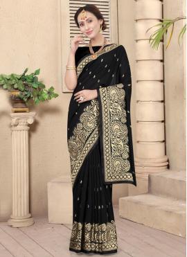 Strange Silk Ceremonial Designer Traditional Saree