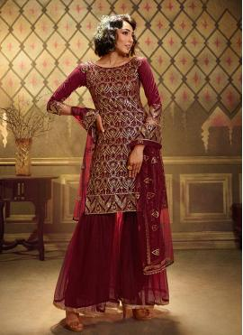 Striking Trendy Palazzo Suit For Festival