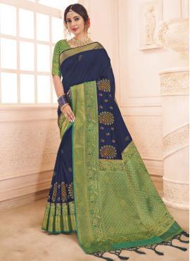 Stylish Art Silk Weaving Traditional Saree