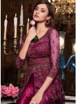 Stylish Net Sangeet Floor Length Anarkali Suit - 1