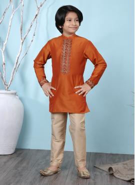Suave Cotton Silk Kurta Pyjama