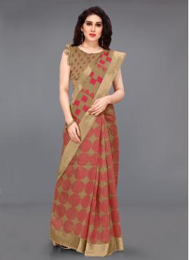Subtle Cotton Contemporary Saree