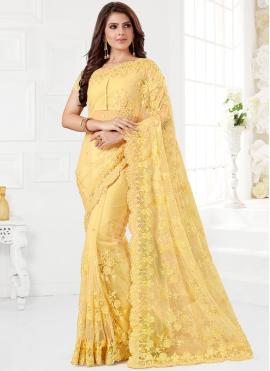 Sunshine Net Traditional Saree