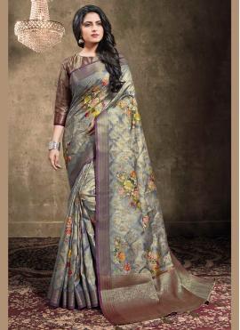 Superb Blue Bollywood Saree