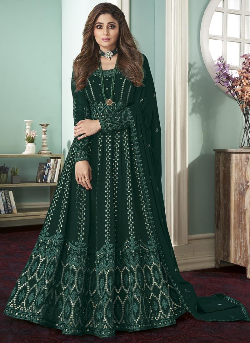 Superb Green Bollywood Salwar Kameez