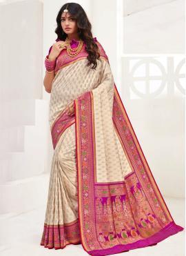 Superb Weaving Festival Trendy Saree